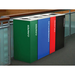 Architectural Recycle Bins
