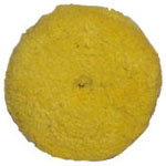 Double Sided Yellow Wool Cutting Pad